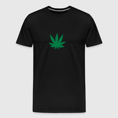 Cannabis leaf 912 - Men's Premium T-Shirt