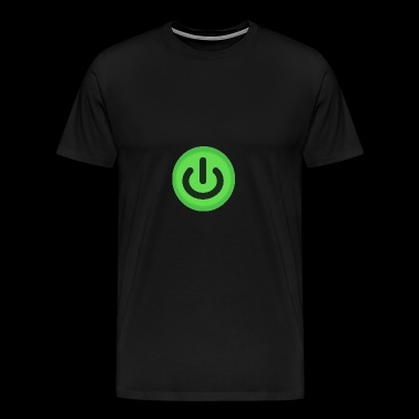 On / Off button Power Button Switch - Men's Premium T-Shirt