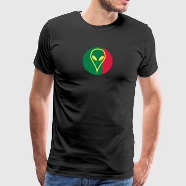 Portugal football jersey - Men's Premium T-Shirt
