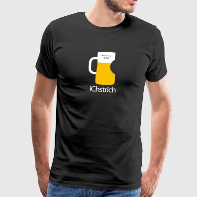 Eichstrich Apple Beer Glass Beer Mug Bembel Seidel - Men's Premium T-Shirt