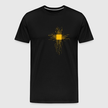 Computer Heart / CPU - Heart - Men's Premium T-Shirt