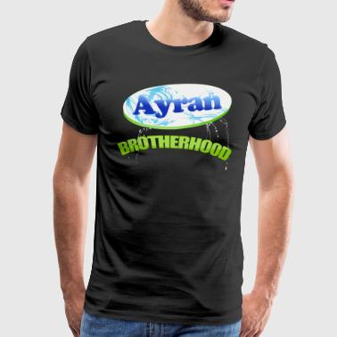 Ayran Brotherhood skjorte - Premium T-skjorte for menn