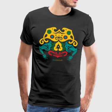 Borneo Mask - Men's Premium T-Shirt