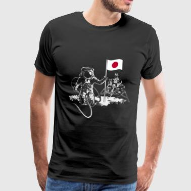 Moon Apollo Japan - Männer Premium T-Shirt