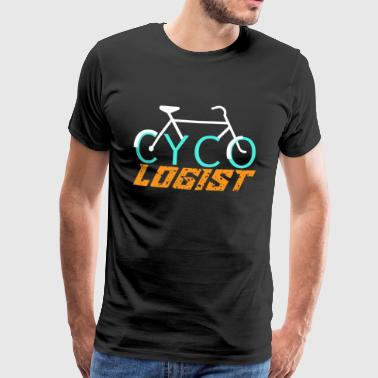 Cycologist - Bicycle Road Bike Mountain Bike Gift - Men's Premium T-Shirt