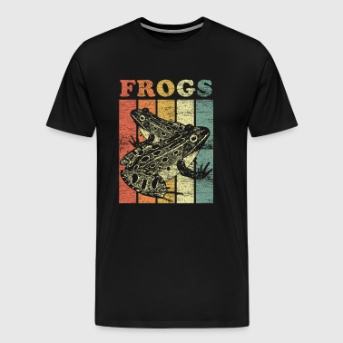 Frogs frog prince fairy tale prince animal welfare food - Men's Premium T-Shirt