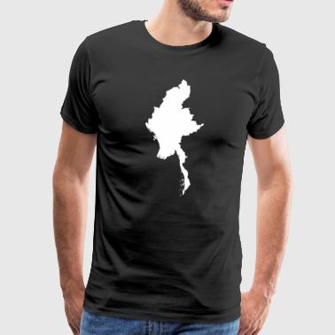 Myanmar Original Gift Idea - Men's Premium T-Shirt