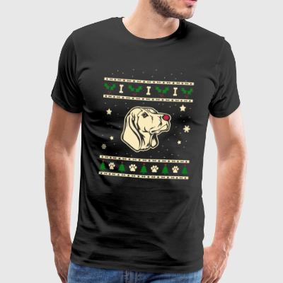 Black and Tan Coonhound Christmas Gift - Men's Premium T-Shirt