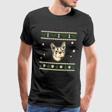 Boston Terrier Christmas Gift - Men's Premium T-Shirt