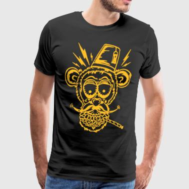 Monkeyface (motif color changeable) - Men's Premium T-Shirt