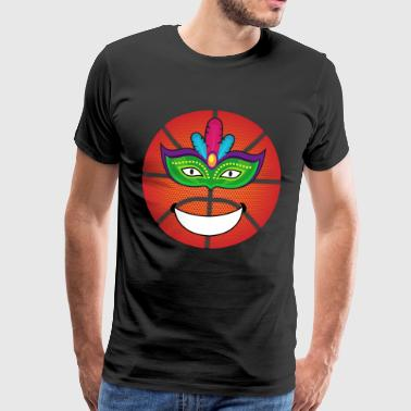 I love basketball basketball player gift - Men's Premium T-Shirt