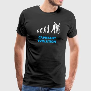Capitalist Evolution - Männer Premium T-Shirt