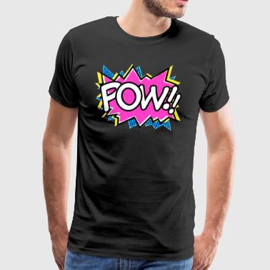 90s Nineties Flaschback Prince POW - Men's Premium T-Shirt