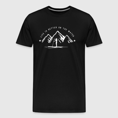 Stand Up Paddle Mountain - Men's Premium T-Shirt