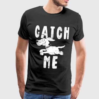 Catch Me - Doggie Dog - Comic - Hunde - Gave - Herre premium T-shirt
