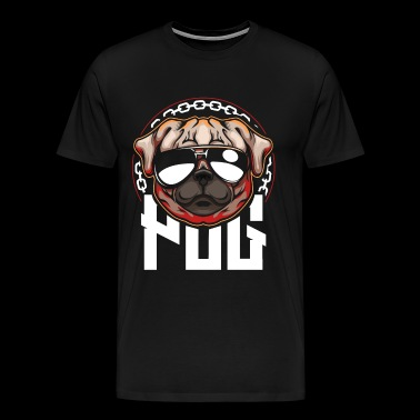 Cool Pug - Men's Premium T-Shirt
