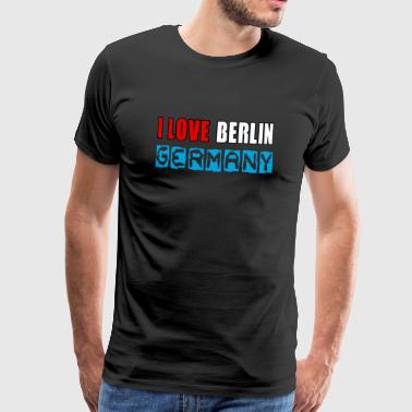 I love Berlin - Men's Premium T-Shirt