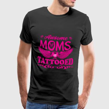 Tattooed mothers mother's day gift - Men's Premium T-Shirt