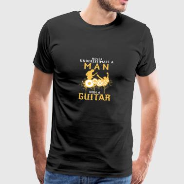 Guitarist - Men's Premium T-Shirt