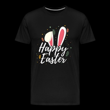 Happy easter bunny floppy ears gift - Men's Premium T-Shirt