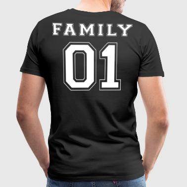 FAMILLE 01 - White Edition - T-shirt Premium Homme