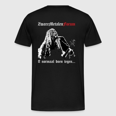 ZM back - Men's Premium T-Shirt