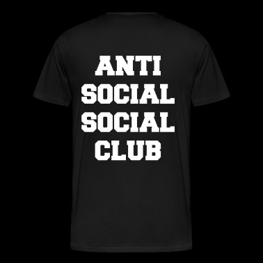 Anti social social club - Men's Premium T-Shirt