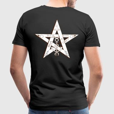 Pentagramm Magic - Männer Premium T-Shirt