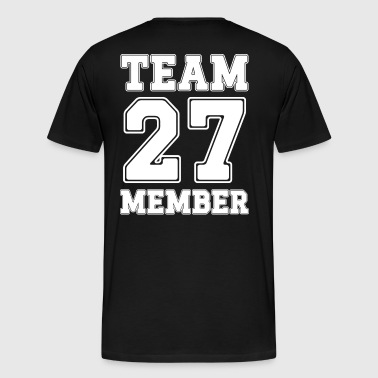 Team Member 27 - Men's Premium T-Shirt