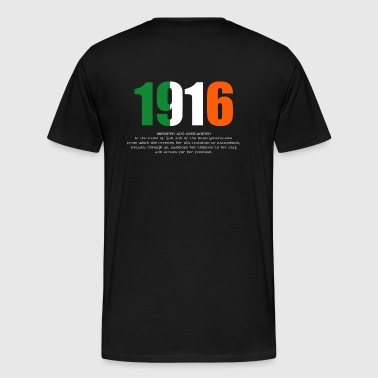 1916 Easter Rising and Proclamation Mens T-shirt - Men's Premium T-Shirt
