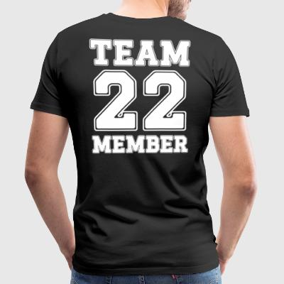 Team Member 22 - Men's Premium T-Shirt