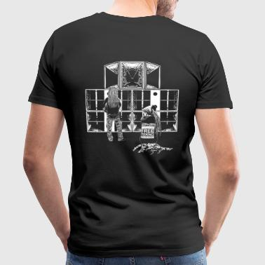 Support Free Tekno sound system - Men's Premium T-Shirt