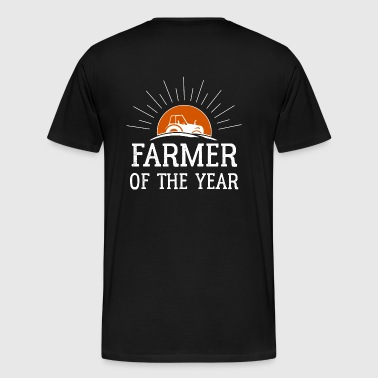 Farmer of the Year - Herre premium T-shirt