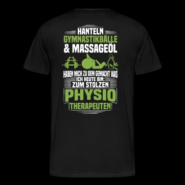 Physiotherapeut / Physiotherapie - Stolzer Physio - Männer Premium T-Shirt