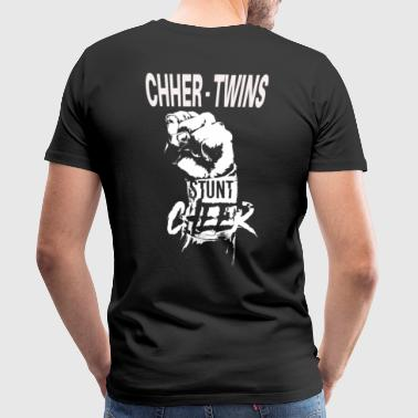 Cheer Twins boy - Men's Premium T-Shirt