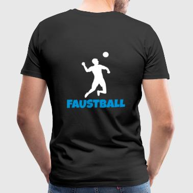 Fistball - Premium-T-shirt herr