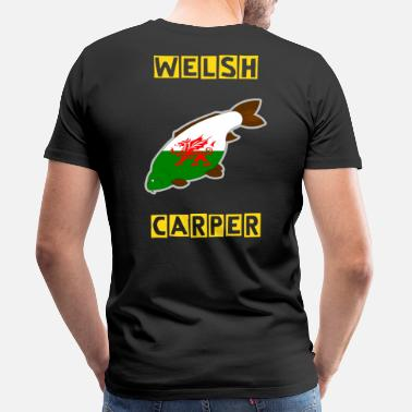 Made In Wales wales carp - Men's Premium T-Shirt
