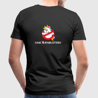 Unicorn Busters (Logo + Text) - Men's Premium T-Shirt