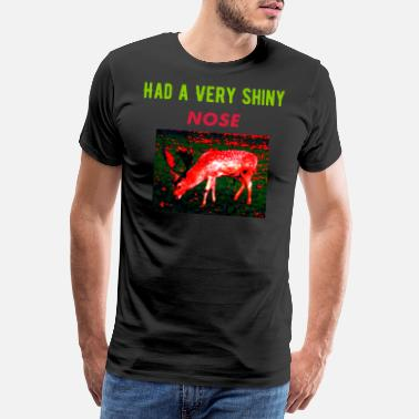 Red Deer A RED DEER - Men's Premium T-Shirt