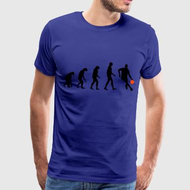 Evolution Basketball - Camiseta premium hombre