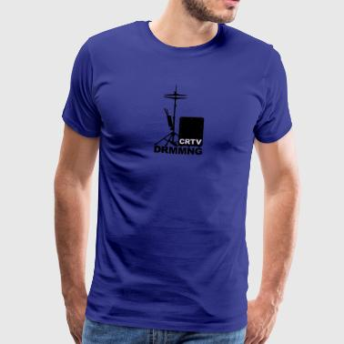Creative Drumming Cajon and Hi Hat - Männer Premium T-Shirt