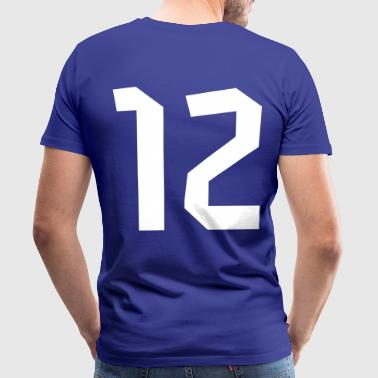 12 Switzerland Football 2014, Pelibol ™ - Männer Premium T-Shirt