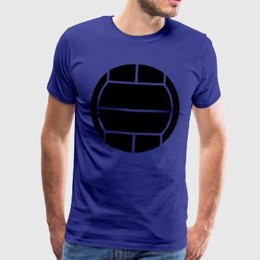 volleyball sport - Premium T-skjorte for menn
