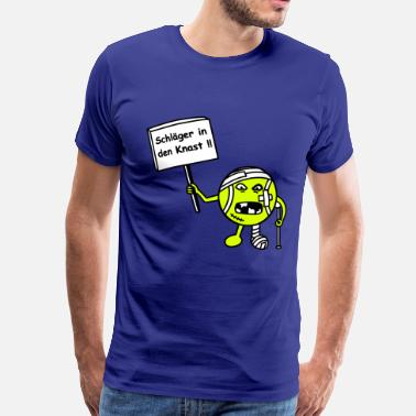 Tennisball Tennisball demonstriert - Männer Premium T-Shirt