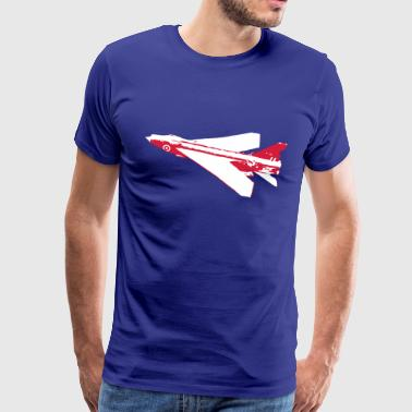 F1 Lightning Fighter Jet - Men's Premium T-Shirt