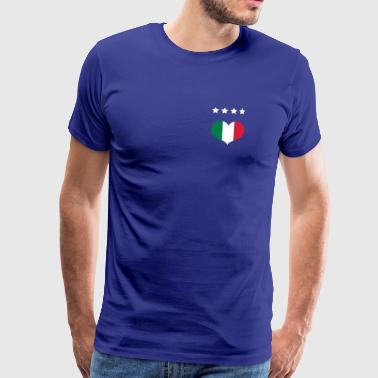 Italian Football - Men's Premium T-Shirt