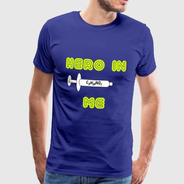 Hero in me - Mannen Premium T-shirt