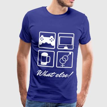 what else - T-shirt Premium Homme