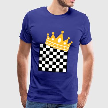 chess king - Men's Premium T-Shirt