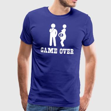 Game Over Pregnancy - Men's Premium T-Shirt